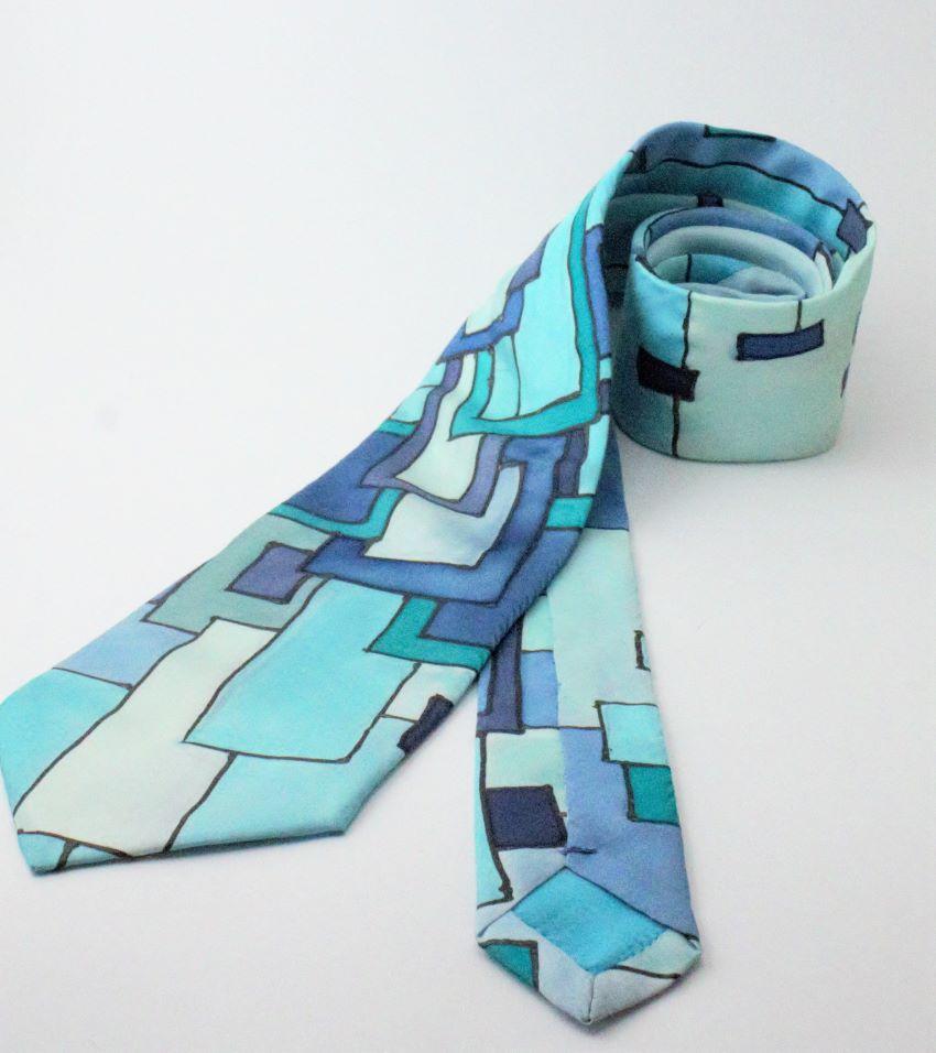 100% selyem nyakkendő klimt