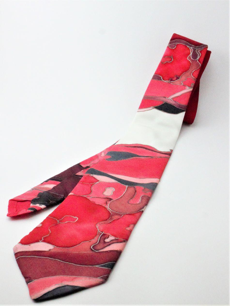100% hernyóselyem nyakkendő
