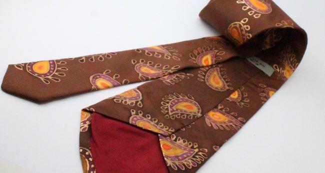 100% hernyóselyem férfi nyakkendő