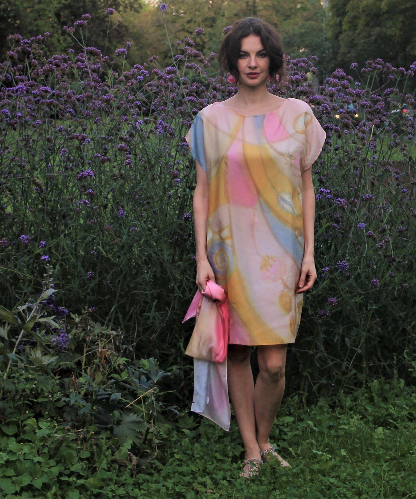 designer hernyóselyem ruha