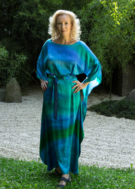turquoise-casual-silk-dress-by-CestMoi-05